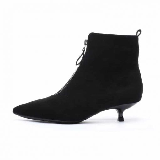 Bottines santiags bout et talons pointus